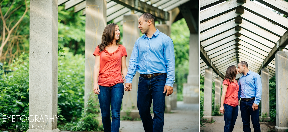 Minnehaha Engagement Session - Shot by Eyetography