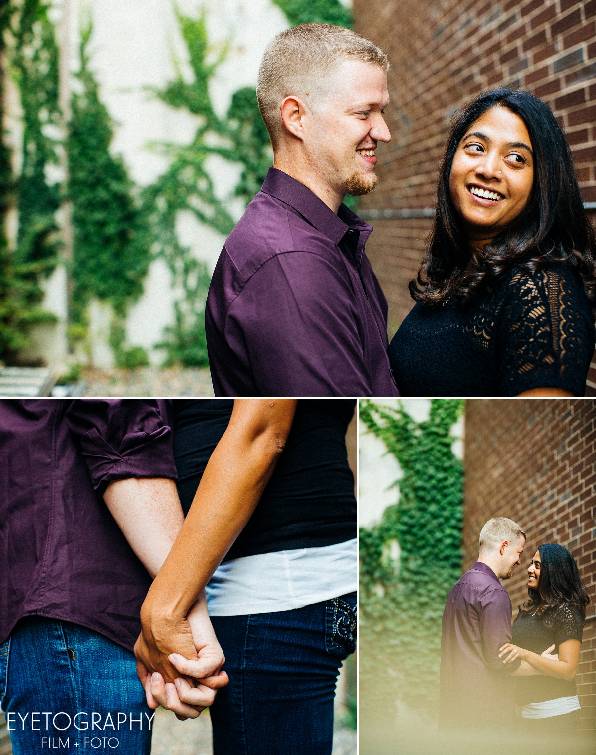 St. Anthony Main engagement session Justin and Kanaka 2