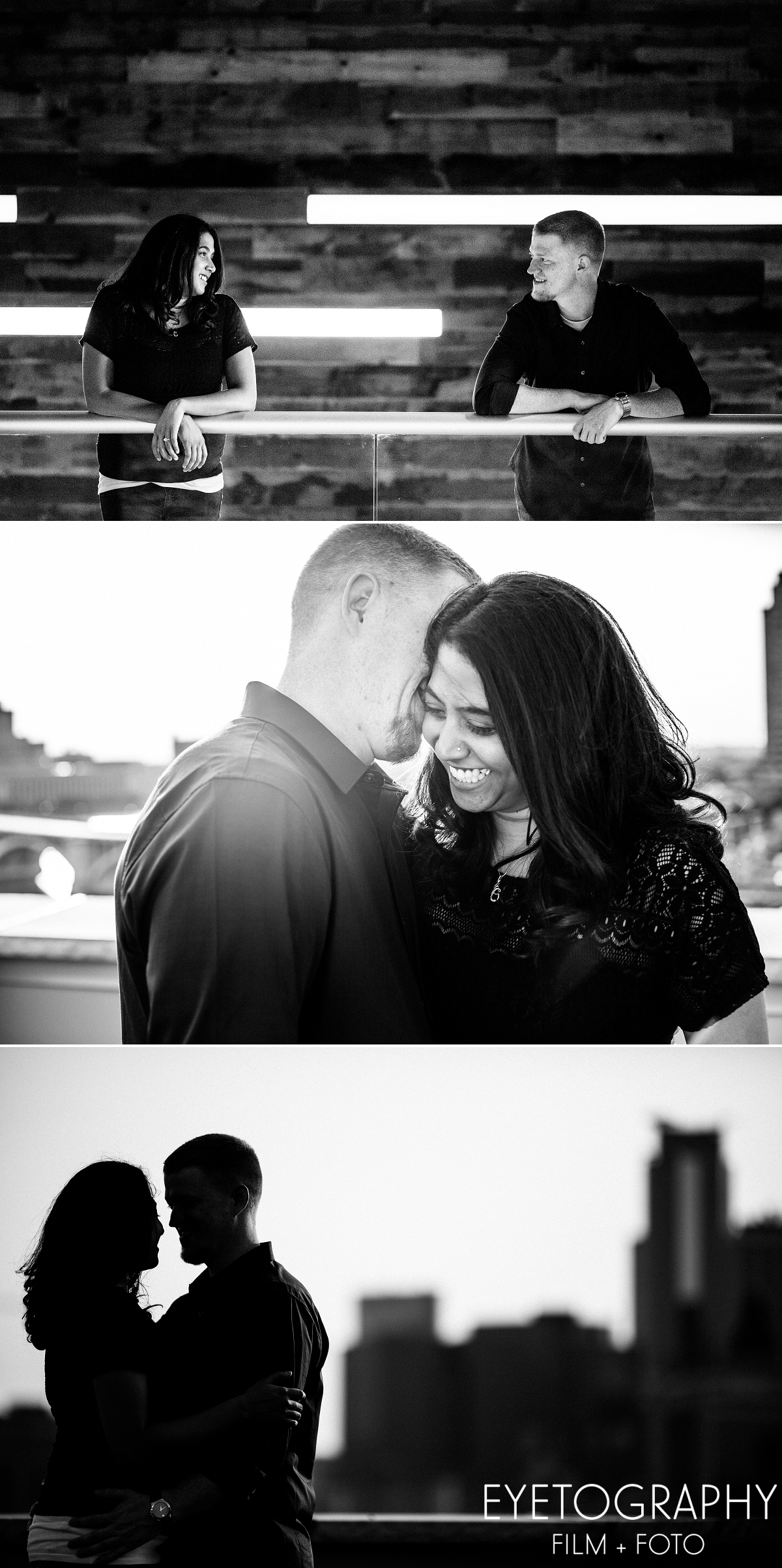 St. Anthony Main engagement session Justin and Kanaka 5