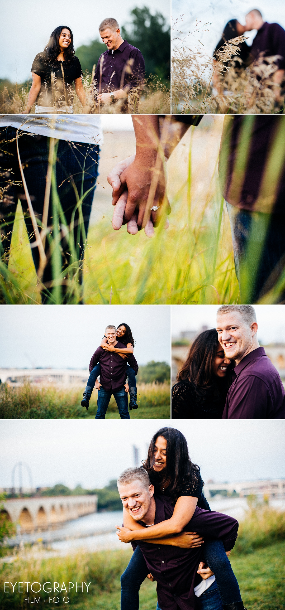 St. Anthony Main engagement session Justin and Kanaka 9