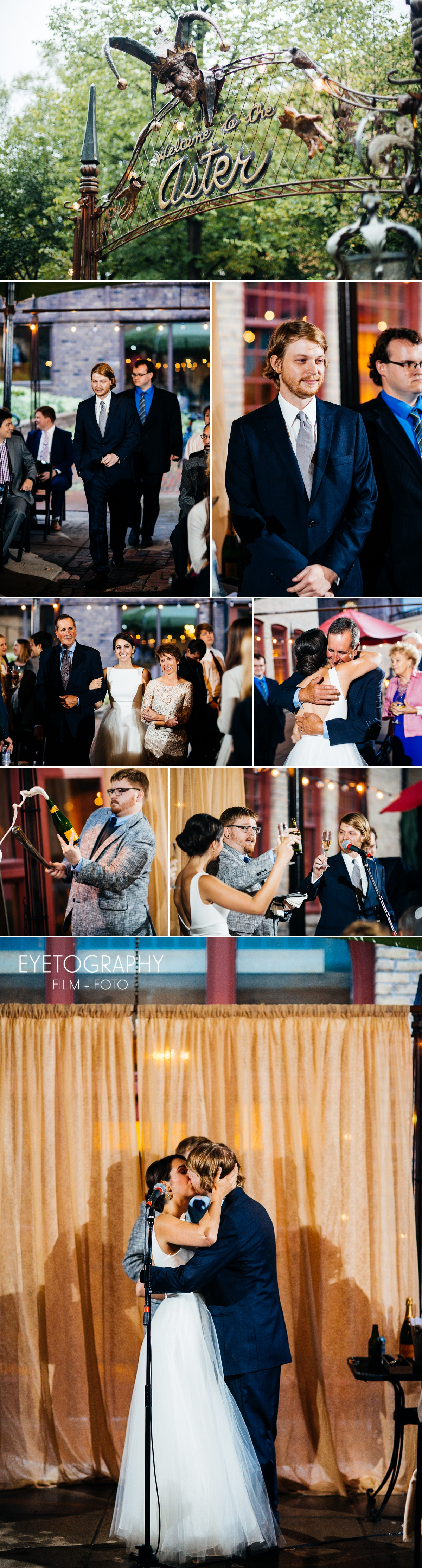 Aster Cafe Wedding - Eyetography Film + Foto | Katharine + Blake 8