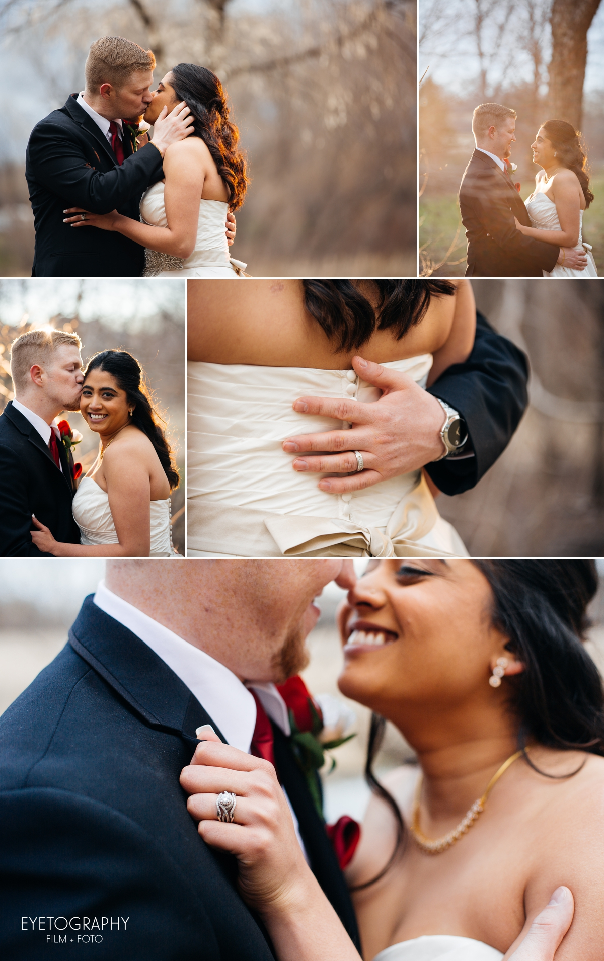 Minneapolis Crowne Plaza Wedding Photography | Justin + Kanaka | Eyetography Film + Foto 11