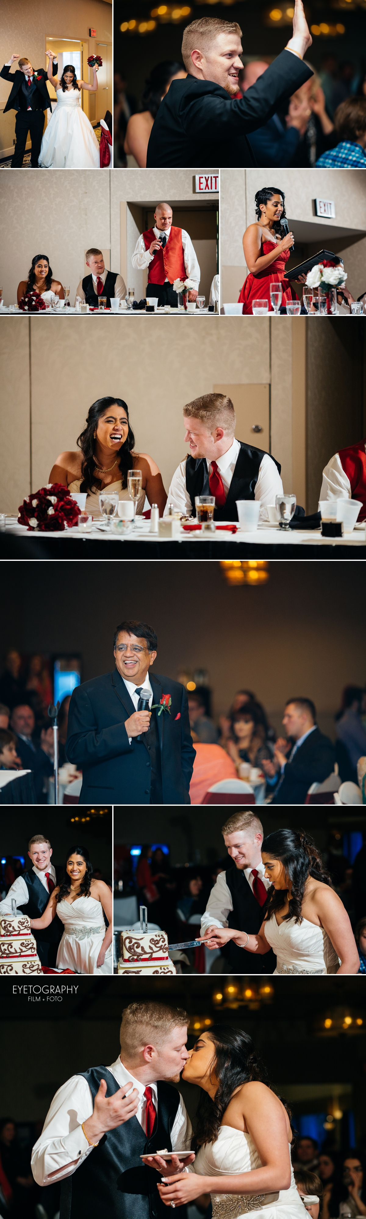 Minneapolis Crowne Plaza Wedding Photography | Justin + Kanaka | Eyetography Film + Foto 13