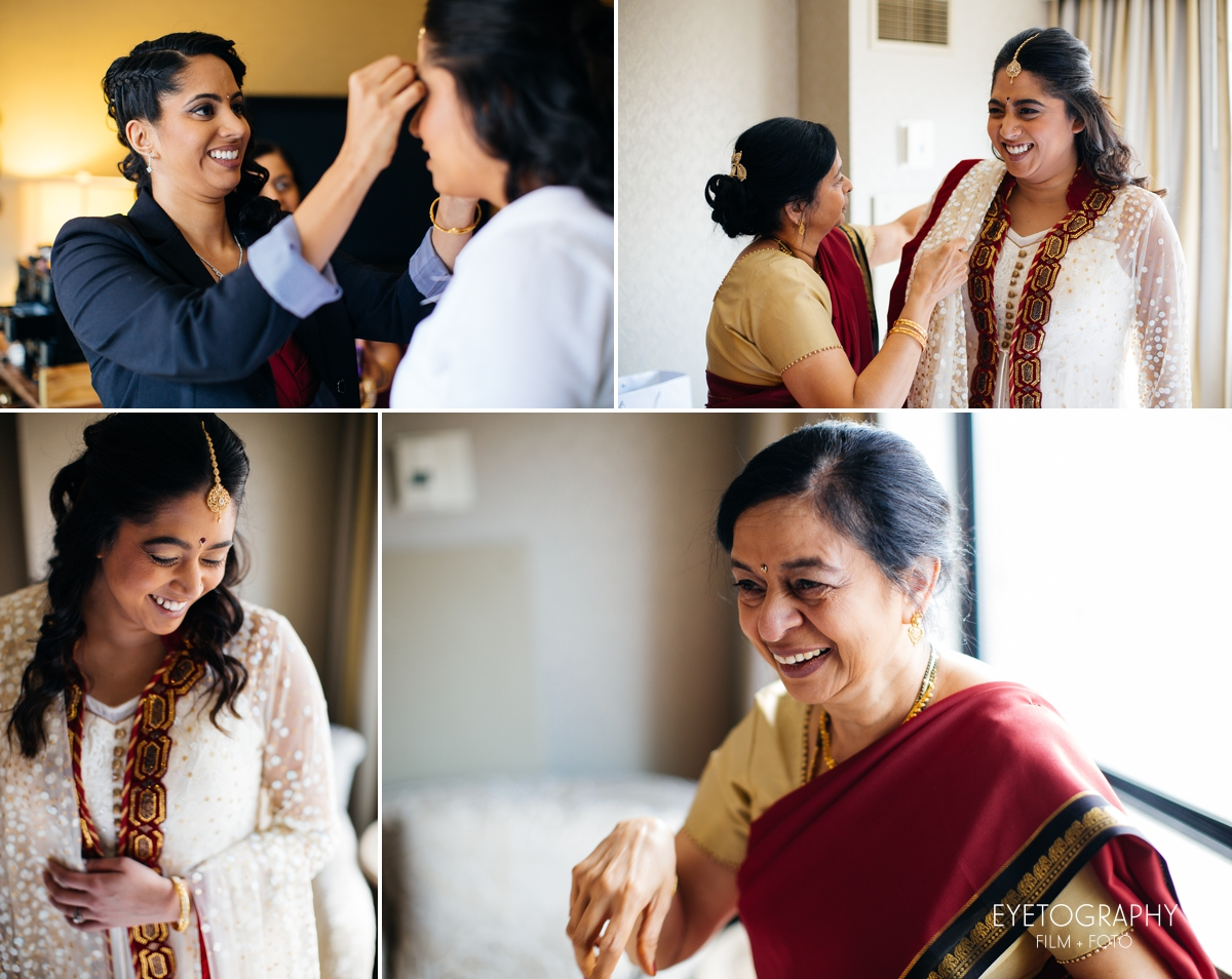 Minneapolis Crowne Plaza Wedding Photography | Justin + Kanaka | Eyetography Film + Foto 4