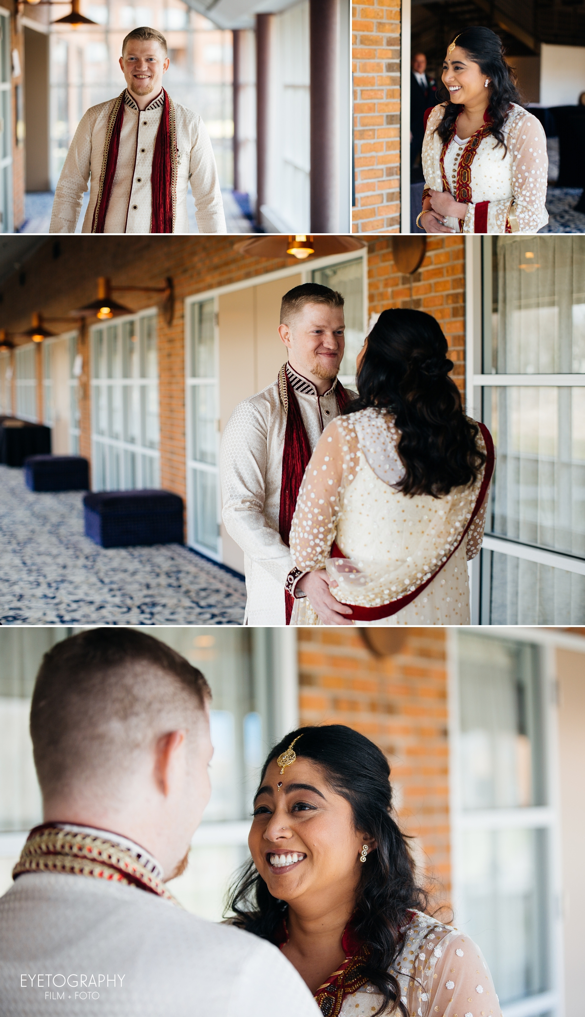 Minneapolis Crowne Plaza Wedding Photography | Justin + Kanaka | Eyetography Film + Foto 5