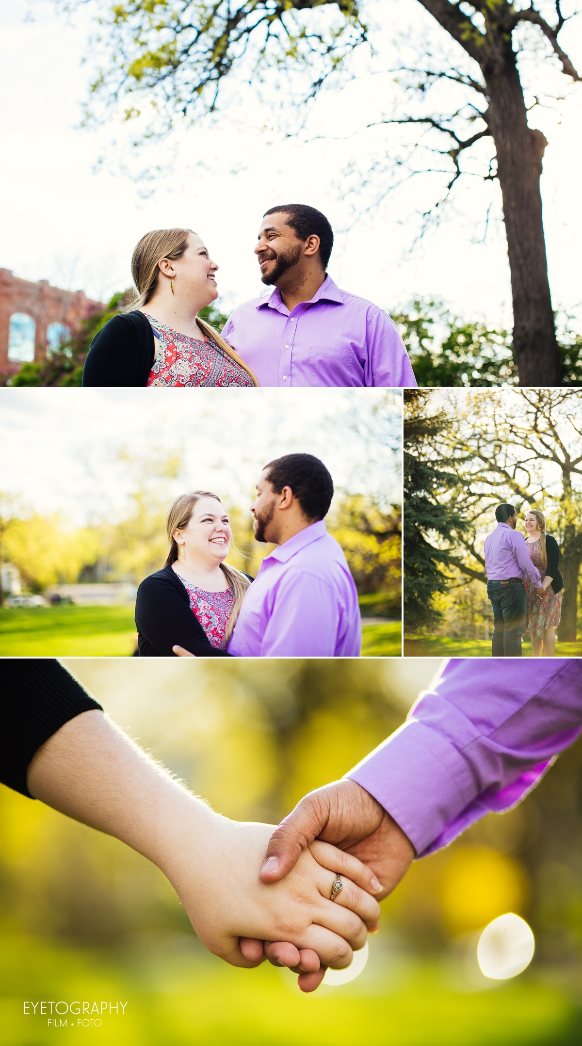 St. Paul Engagement Photography | Eyetography Film + Foto | Emily + Nate 1