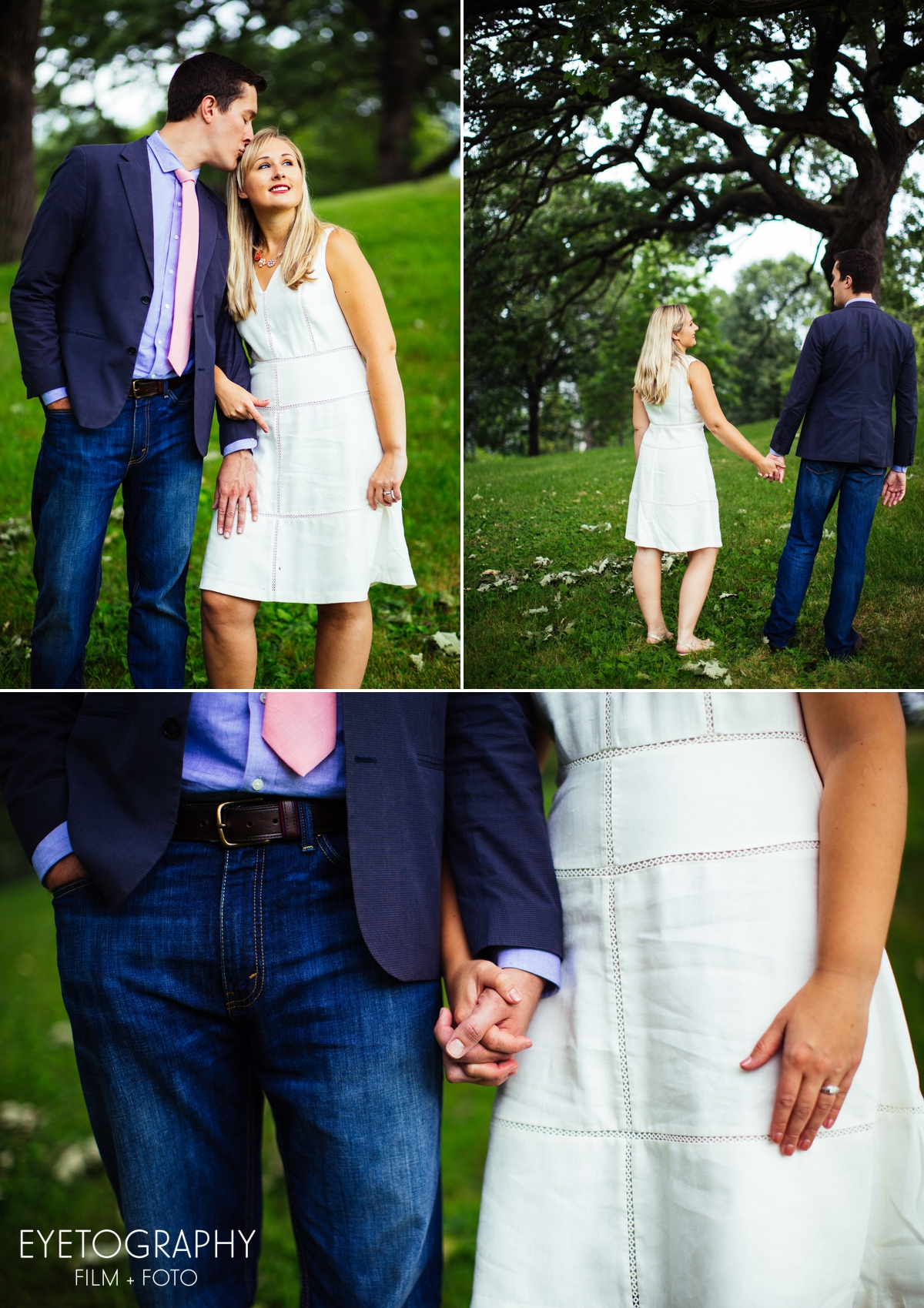 Minnehaha Falls Park Engagement Photography | Eyetography Film + Foto | Anna and Garrett 1