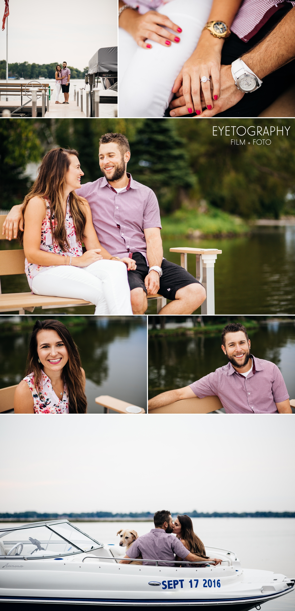 Engagement Session on a Lake | Andrea + Chris | Eyetography Film + Foto Minneapolis, MN 2