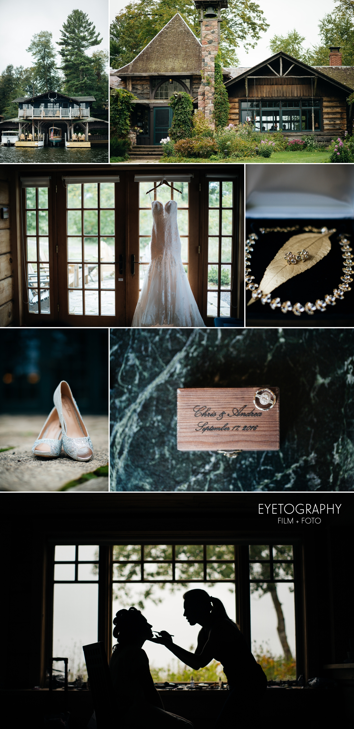 Stout's Island Lodge Wedding Photography | Andrea + Chris | Eyetography Film + Foto | Birchwood, Wisconsin 1