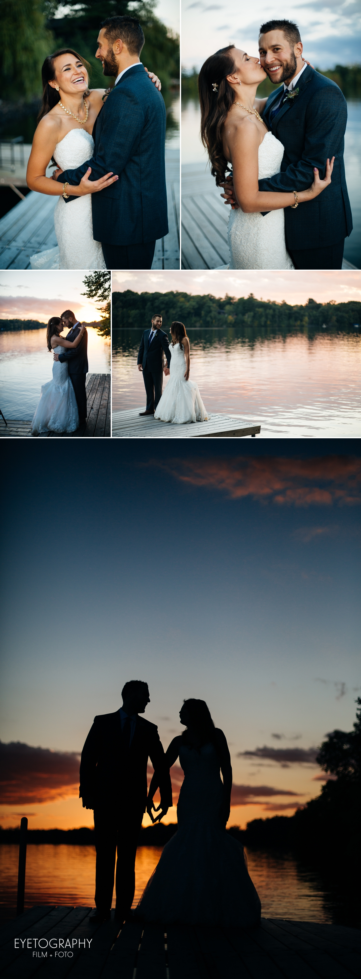 Stout's Island Lodge Wedding Photography | Andrea + Chris | Eyetography Film + Foto | Birchwood, Wisconsin 13