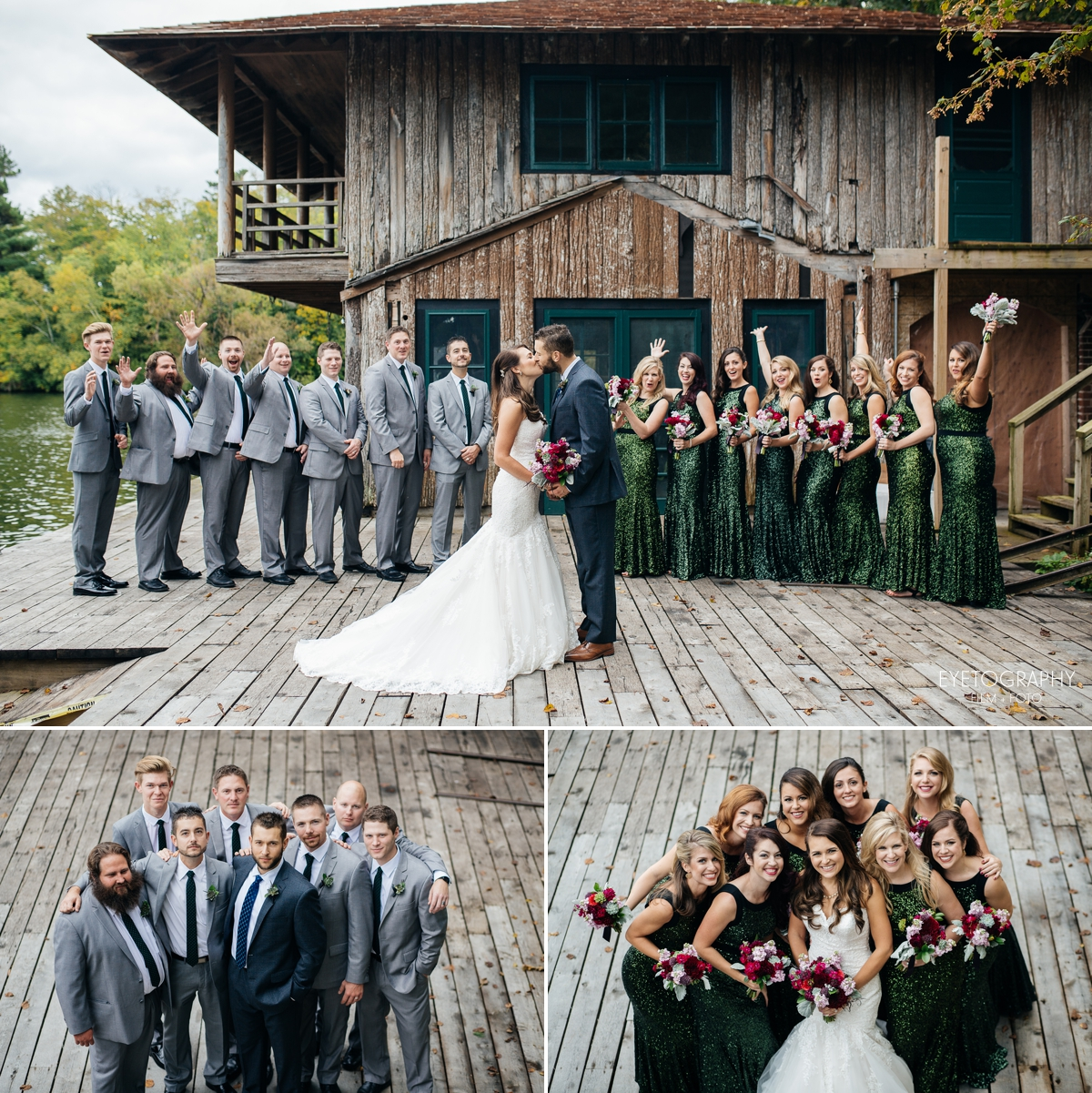 Stout's Island Lodge Wedding Photography | Andrea + Chris | Eyetography Film + Foto | Birchwood, Wisconsin 6
