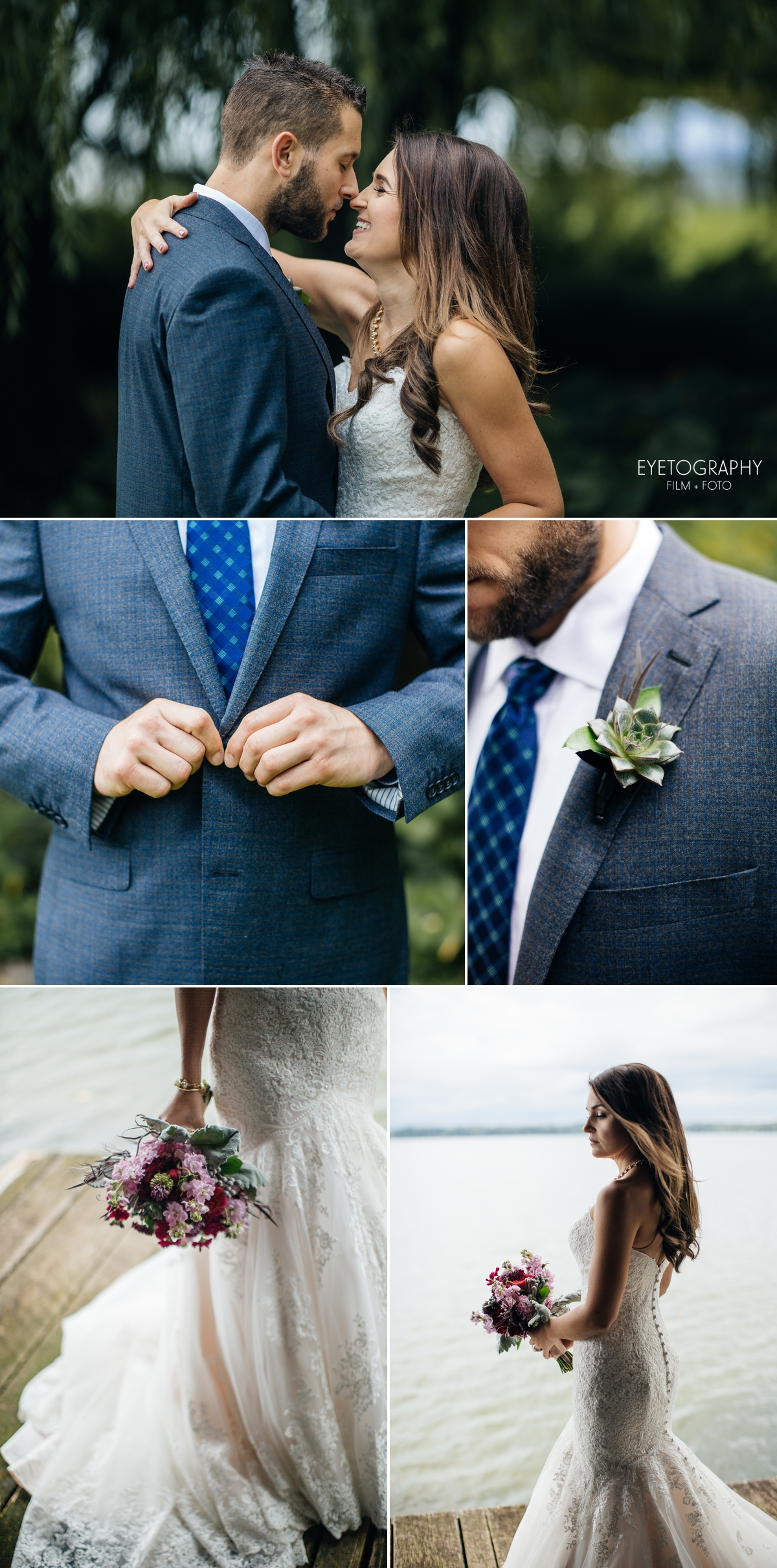 Stout's Island Lodge Wedding Photography | Andrea + Chris | Eyetography Film + Foto | Birchwood, Wisconsin 7