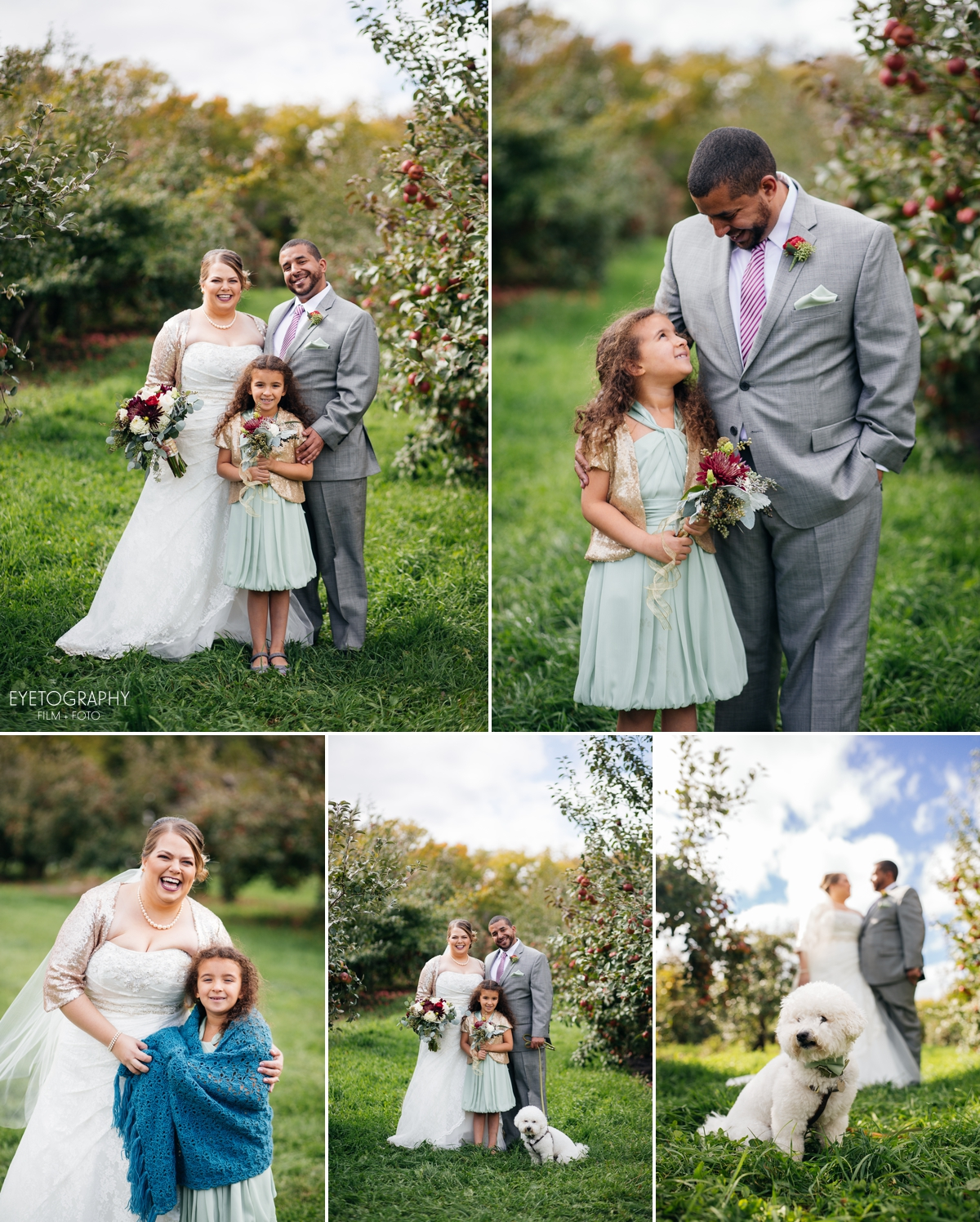 Minnesota Apple Orchard Wedding | Emily + Nate | Eyetography Film + Foto 11