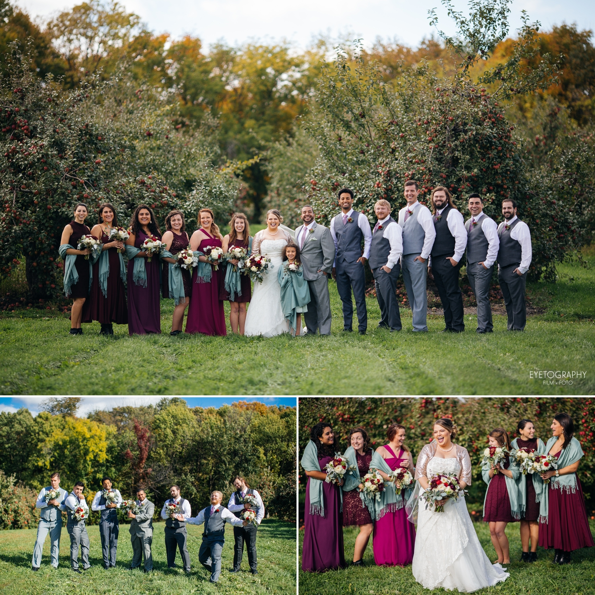 Minnesota Apple Orchard Wedding | Emily + Nate | Eyetography Film + Foto 12