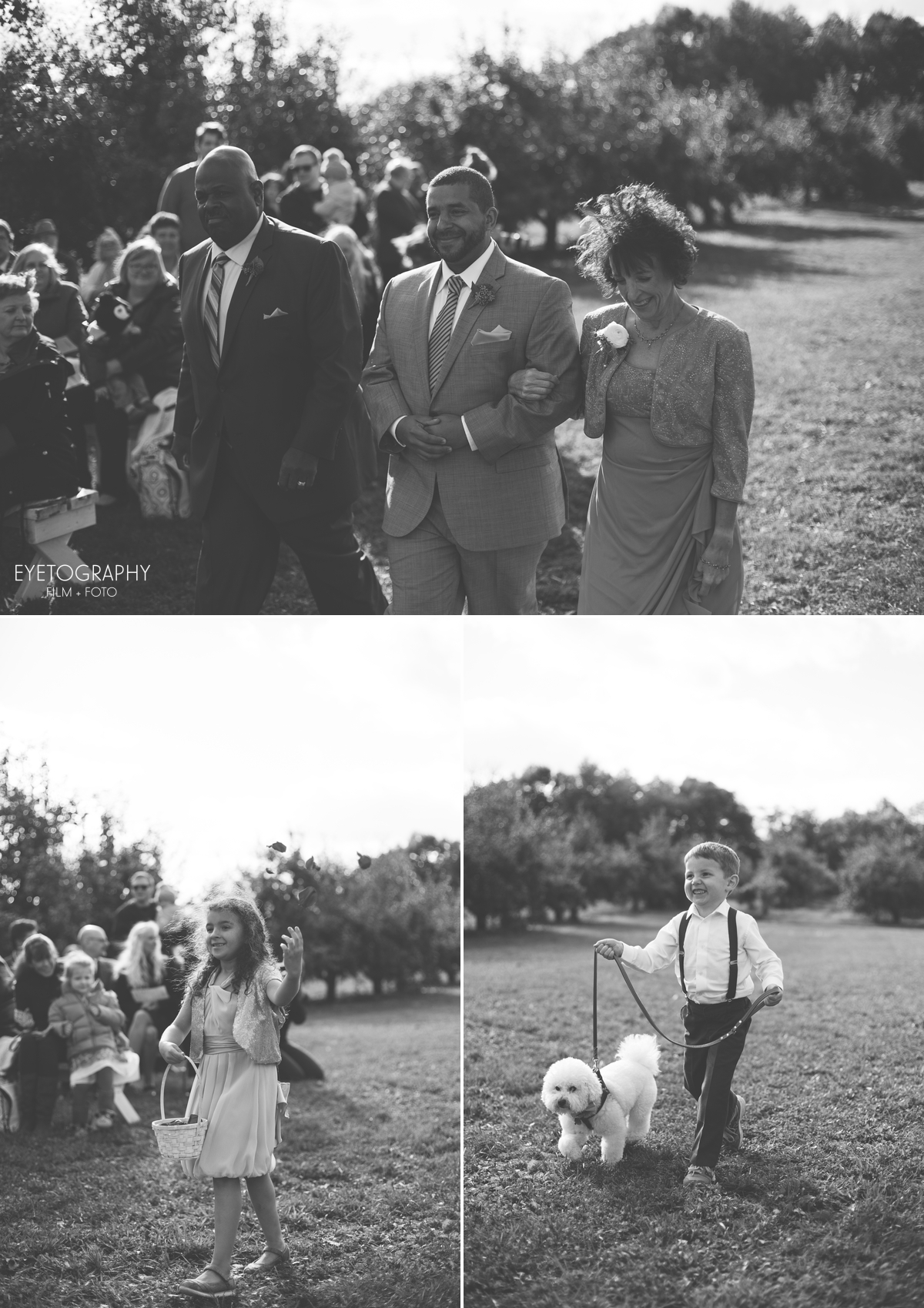 Minnesota Apple Orchard Wedding | Emily + Nate | Eyetography Film + Foto 14