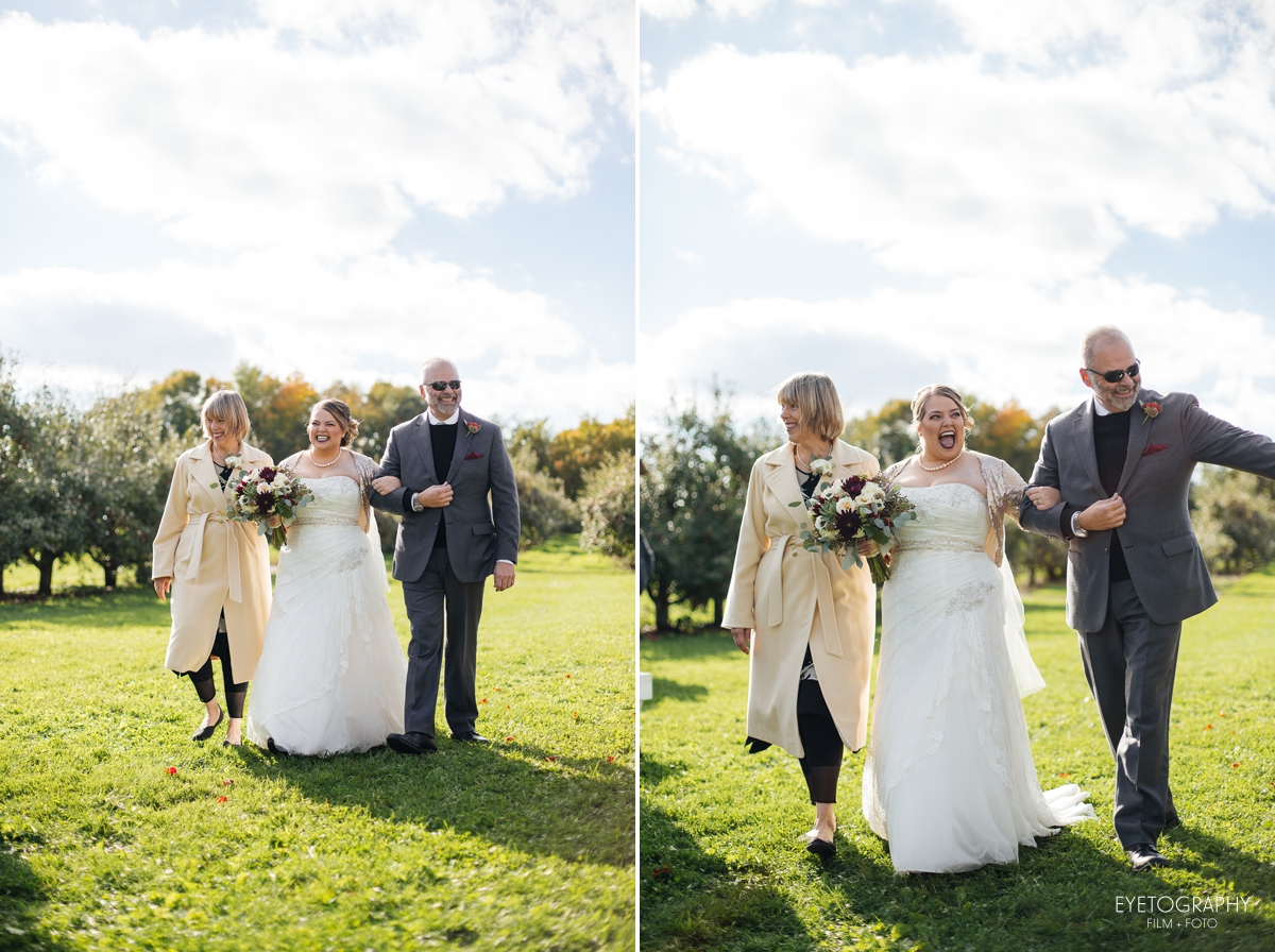 Minnesota Apple Orchard Wedding | Emily + Nate | Eyetography Film + Foto 15