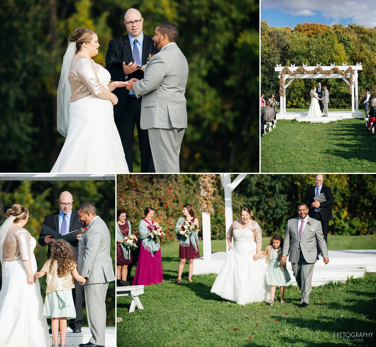 Minnesota Apple Orchard Wedding | Emily + Nate | Eyetography Film + Foto 17