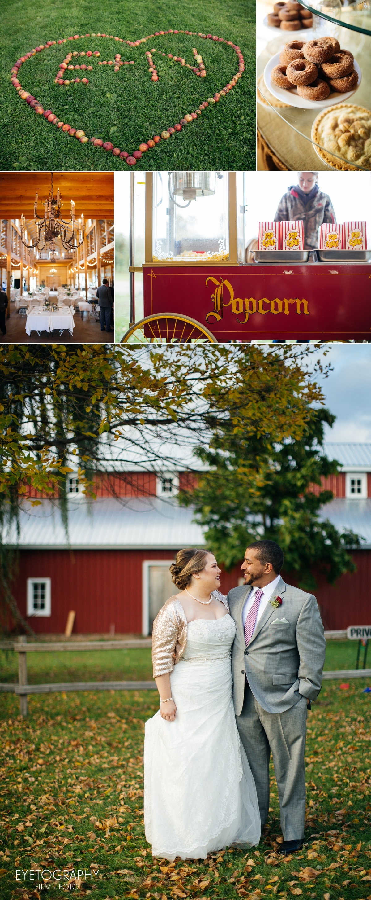 Minnesota Apple Orchard Wedding | Emily + Nate | Eyetography Film + Foto 18