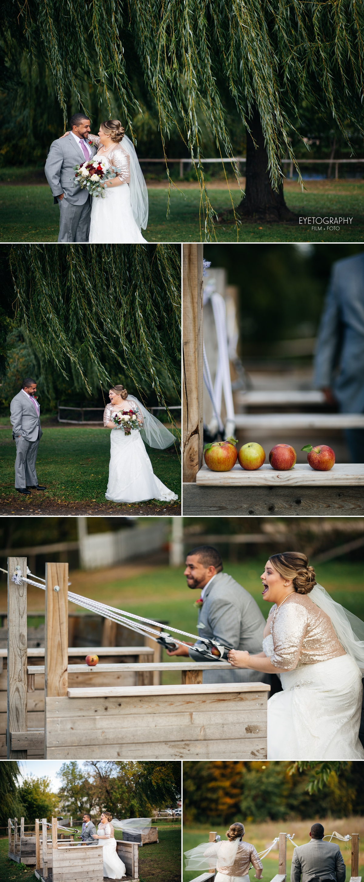 Minnesota Apple Orchard Wedding | Emily + Nate | Eyetography Film + Foto 5