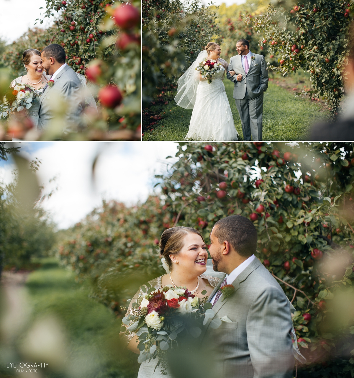 Minnesota Apple Orchard Wedding | Emily + Nate | Eyetography Film + Foto 7