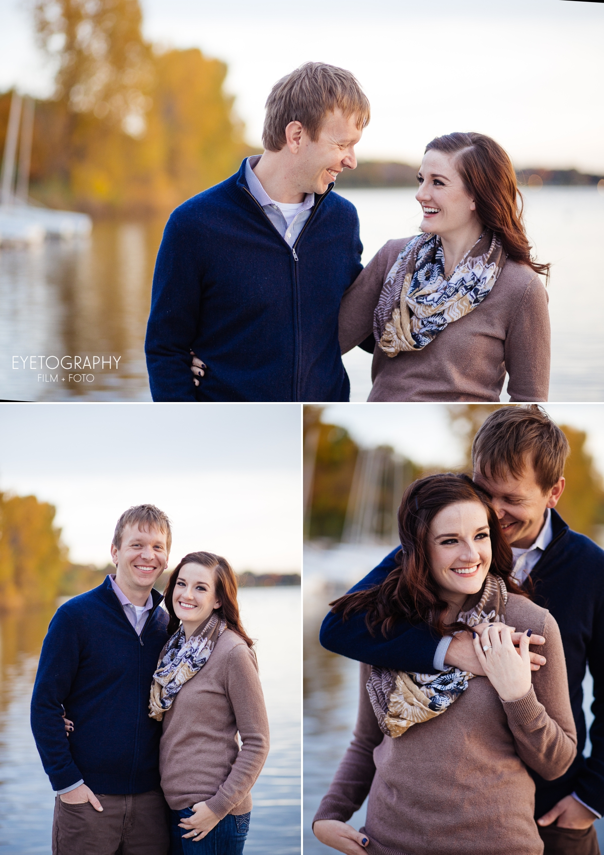 Minneapolis Fall Engagement Photography | Jaimie + Dan | Eyetography FIlm + Foto 3