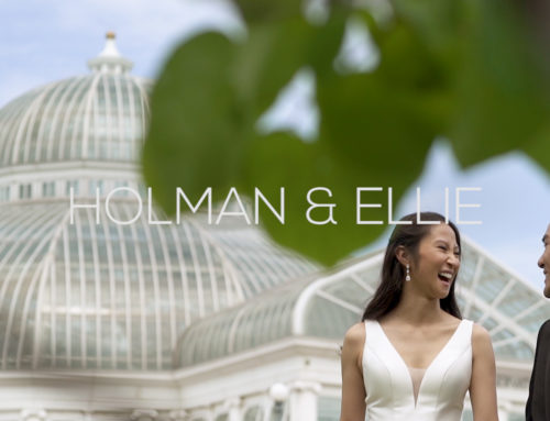 Como Zoo Conservatory Wedding Videography | Holman + Ellie