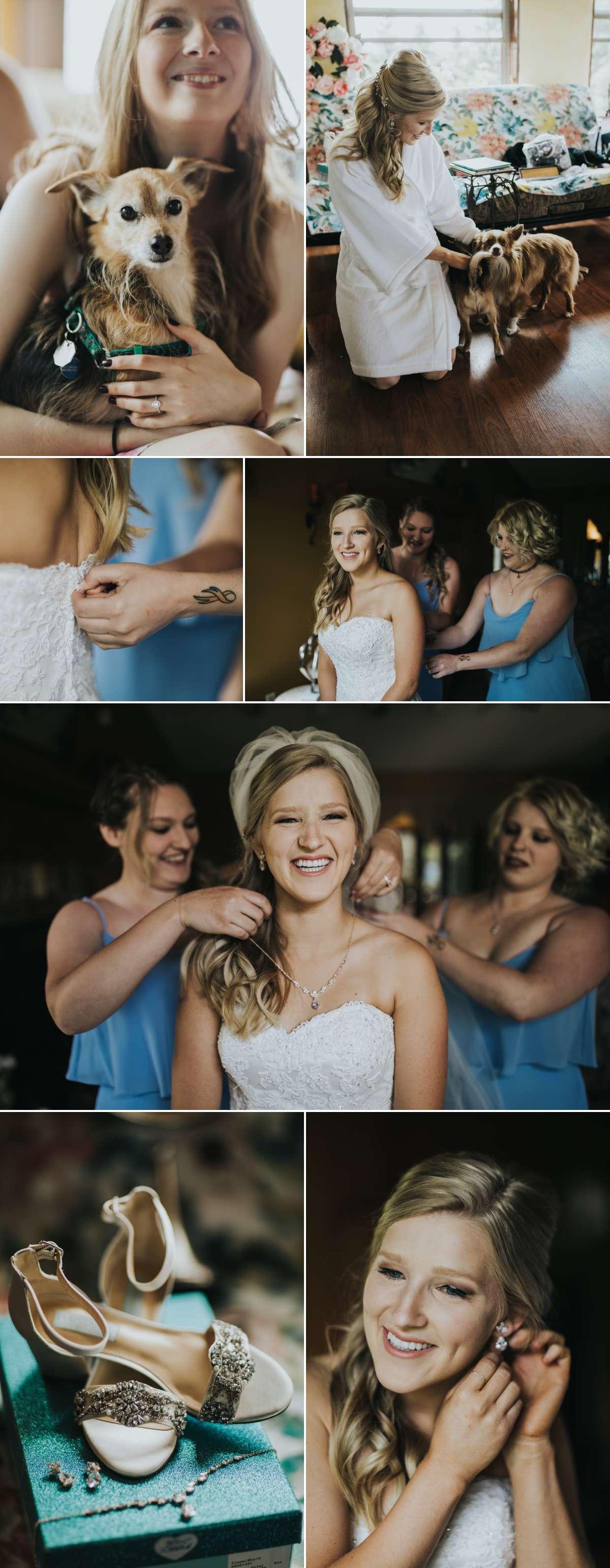 Bridal prep in Minnesota