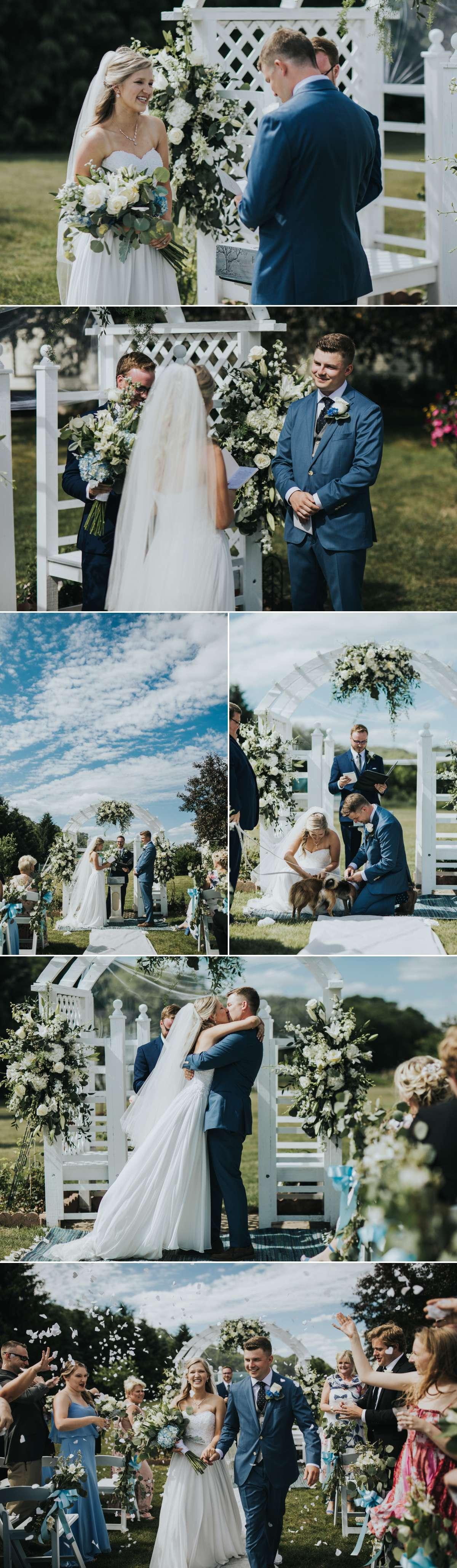 Minnesota Backyard Wedding Photography | Megan + Weston 6