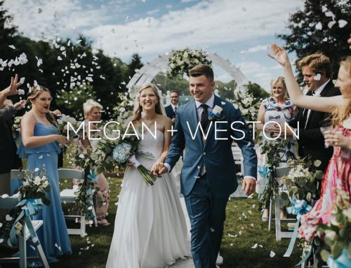 Minnesota Backyard Wedding Photography | Megan + Weston