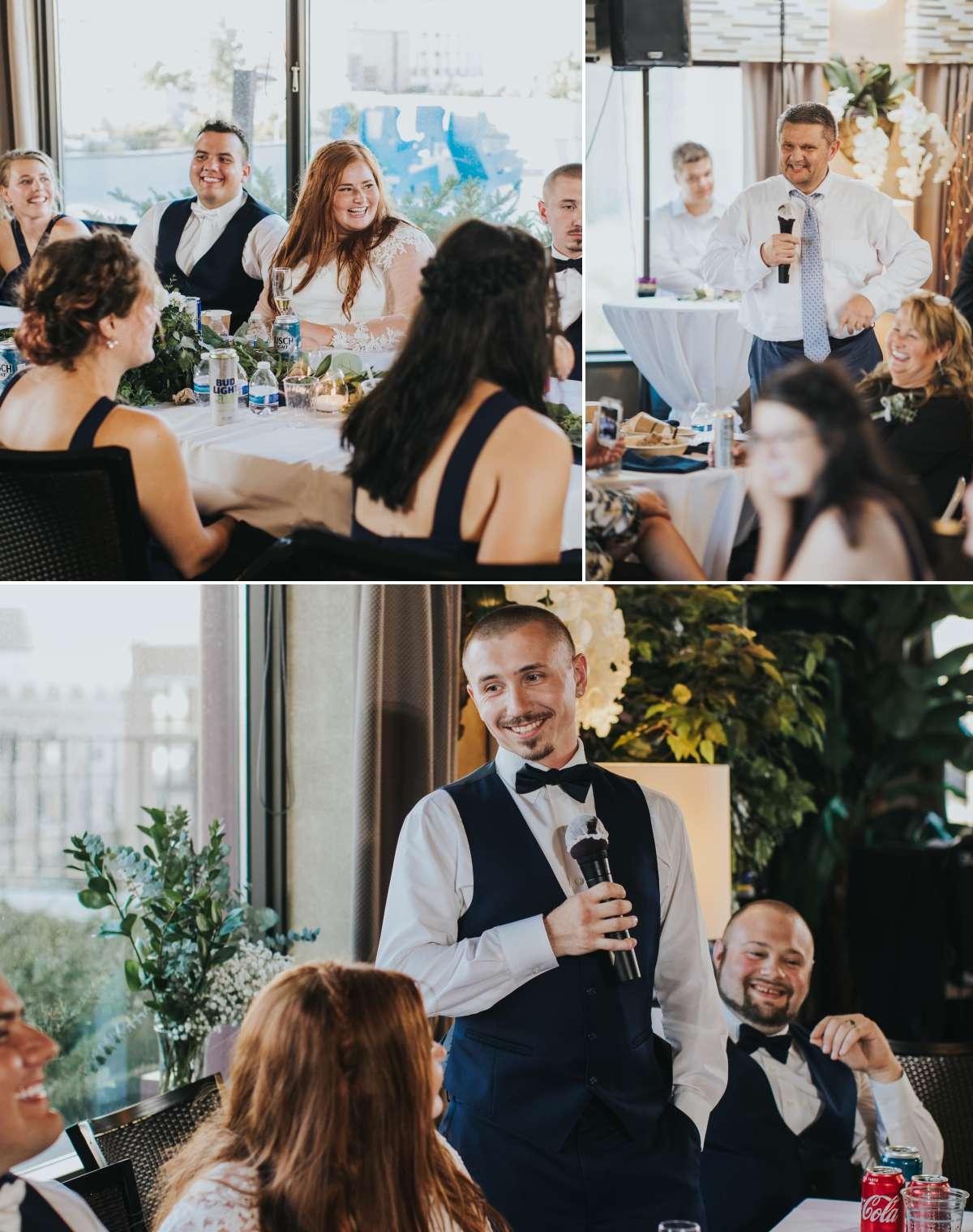 Wedding Toasts in Minneapolis Minnesota