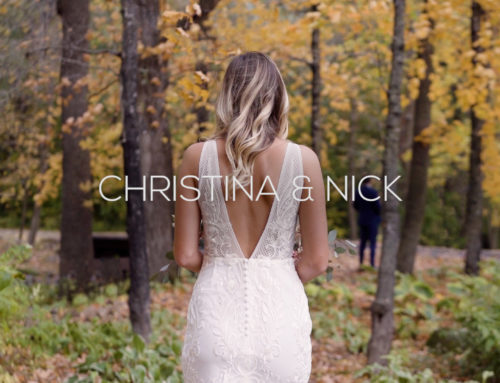 Creekside Farm Wedding Videography | Christina + Nick