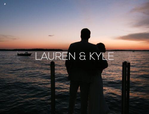 Lake Minnetonka Wedding Videography| Lauren + Kyle