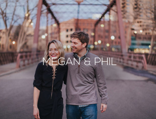 St. Anthony Main Engagement Photography | Megan + Phil